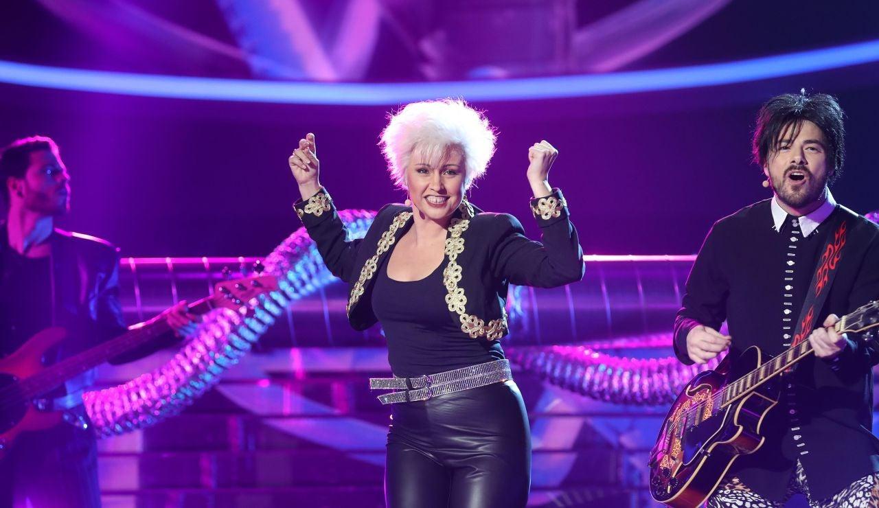 Cristina Ramos homenajea a Roxette con 'Dressed for succes'
