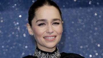 Emilia Clarke en la premiere de 'Last Christmas'