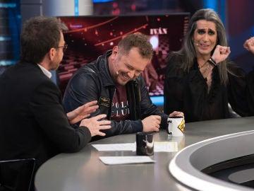 El Monaguillo sufre un gaseoso percance en directo en 'El Hormiguero 3.0'