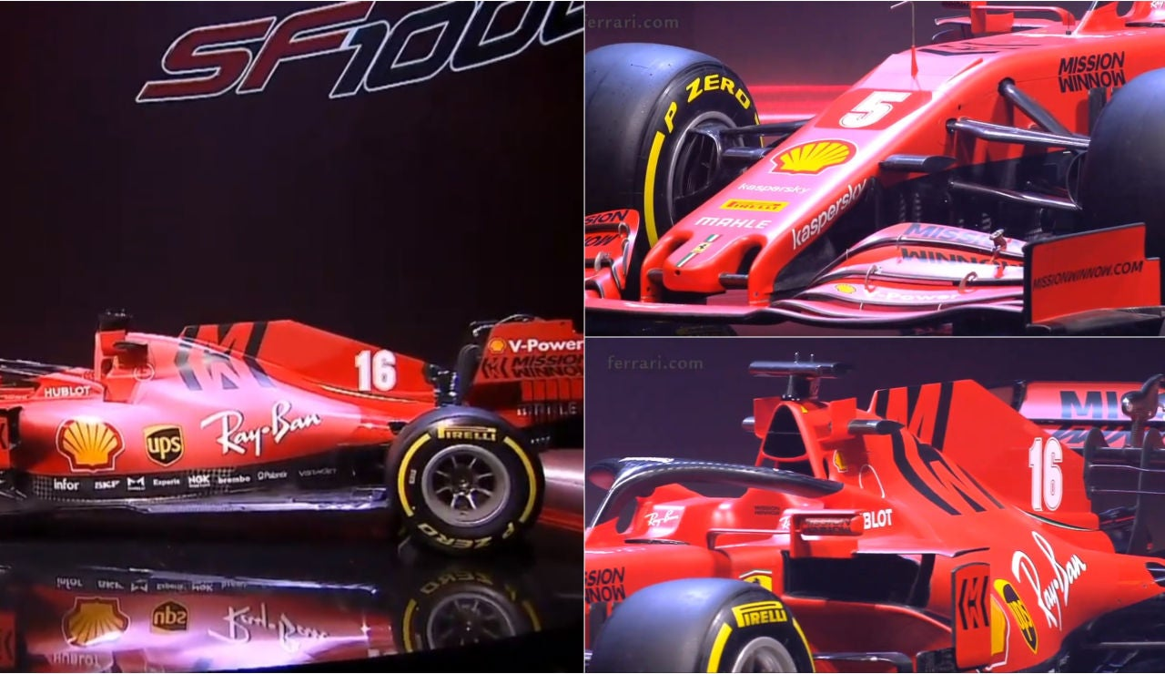 El SF1000, el nuevo monoplaza de Ferrari