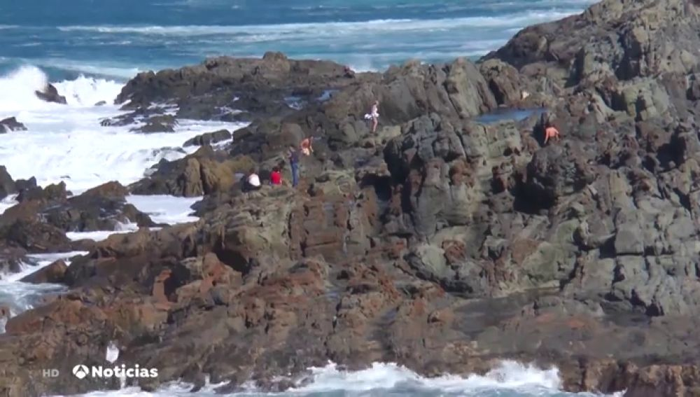 Mueren dos hombres mientras se hacían un 'selfie' en Fuerteventura