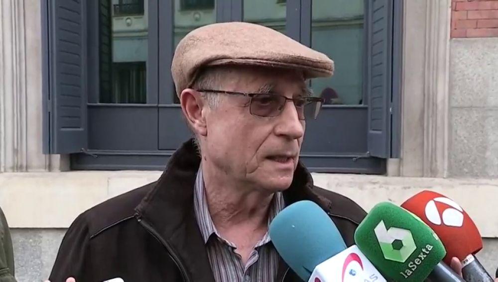 """Ángel Hernández que ayudó a morir a su mujer sobre la ley de eutanasia: """"ya tenemos la llave """""""