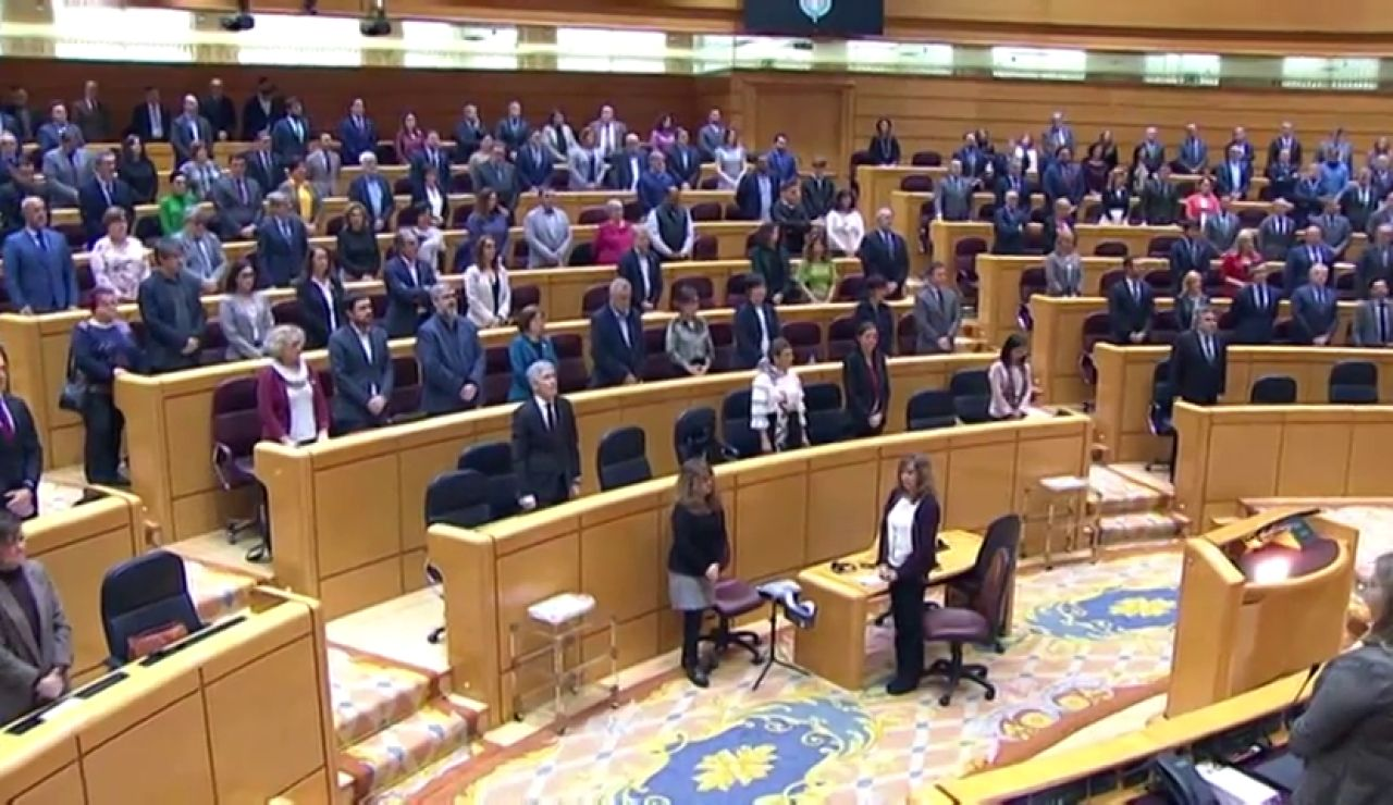 Minuto de silencio en el Senado por la mujeres asesinadas por violencia de género