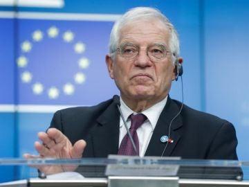 El alto representante de la Unión Europea para Asuntos Exteriores, Josep Borrell