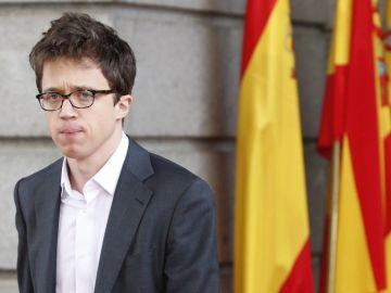 El diputado del Congreso, Íñigo Errejón
