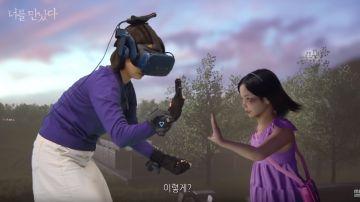 """Una madre """"cumple su sueño"""" y se reencuentra con su hija fallecida gracias a la realidad virtual"""