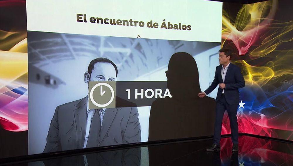 José Luis Ábalos estuvo una hora con Delcy Rodríguez en Barajas, según la policía