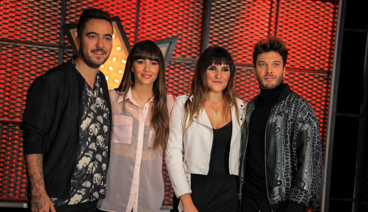 Aitana, Beret, Blas Cantó y Rozalén serán los Asesores de la próxima edición de 'La Voz Kids' en Antena 3