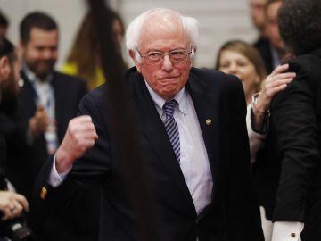 El candidato Bernie Sanders