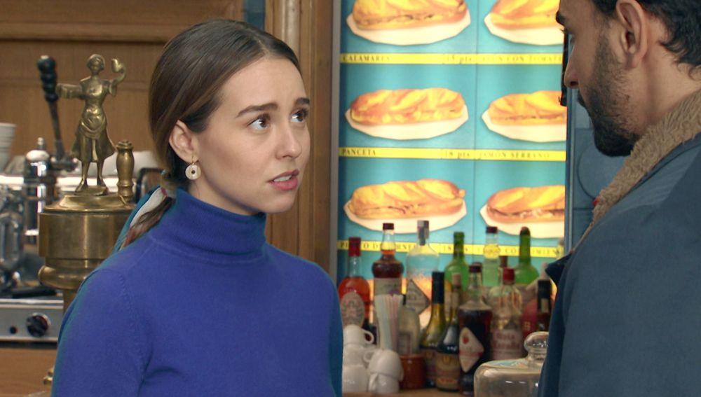 Luisita se sincera con Sebas para intentar relajar la tensión entre ambos
