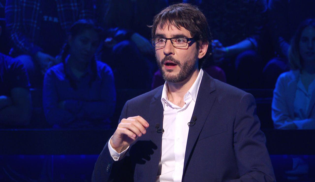 """La pretenciosa estrategia de Eduardo en '¿Quién quiere ser millonario?': """"Quiero contestar la pregunta del millón"""""""