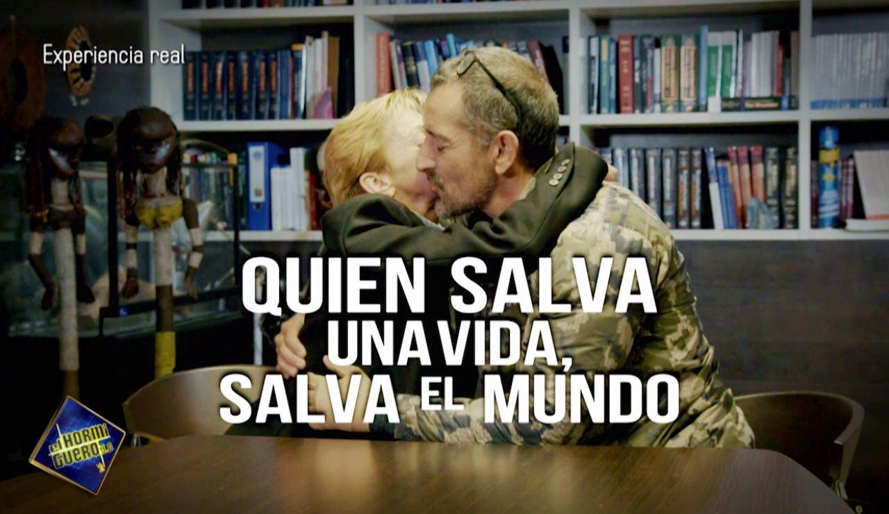 El Doctor Pedro Cavadas se emociona con las palabras de Aurora, la paciente a la que salvó de un tumor en la mandíbula