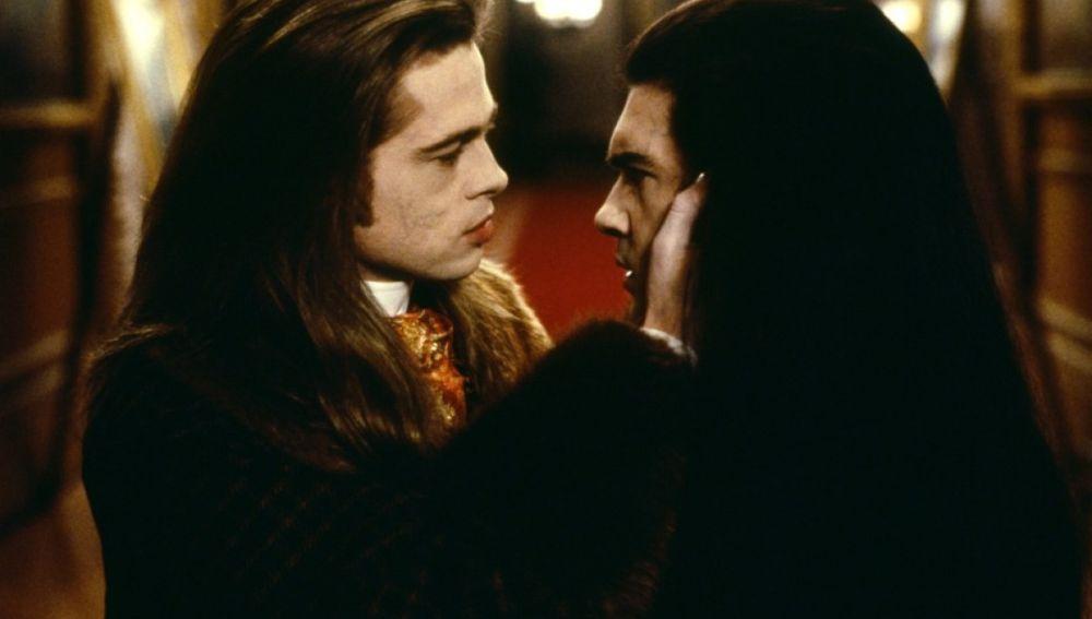 Brad Pitt y Antonio Banderas en 'Entrevista con el vampiro'