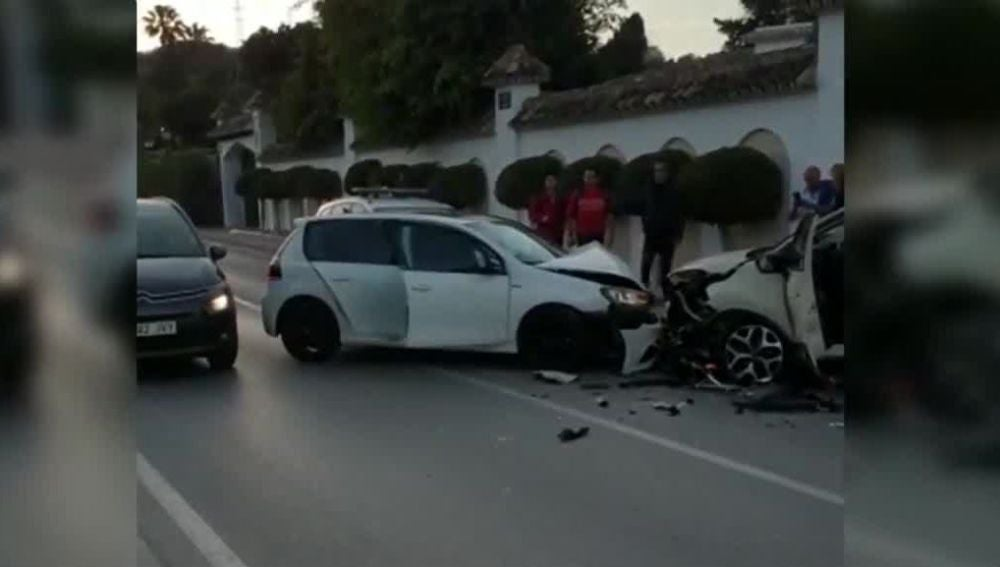 Accidente en Marbella