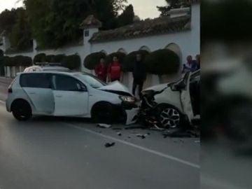 Accidente en Marbella