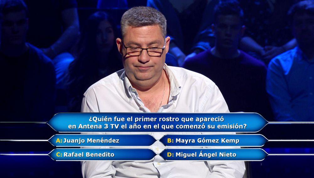 Edurdo tira de memoria sobre los orígenes de Antena 3: ¿Alcanza los 30.000 euros de '¿Quién quiere ser millonario?'?