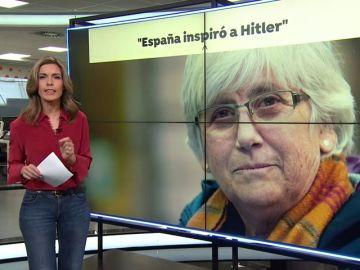 La eurodiputada independentista Clara Ponsatí compara la expulsión de los judíos del siglo XV con la situación de Cataluña
