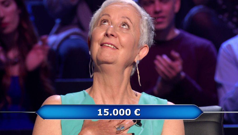 La conjugación del verbo 'erguir', muy cerca de costarle un gran disgusto a Montse en '¿Quién quiere ser millonario?'