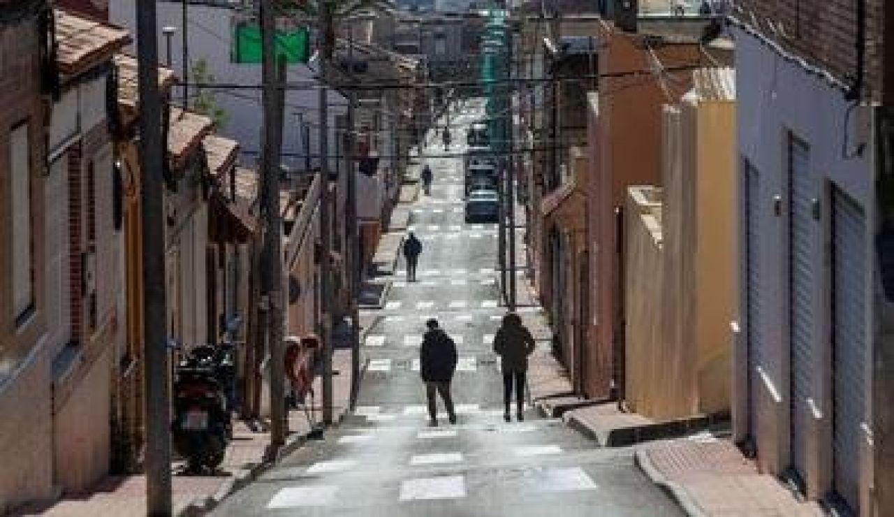 Una calle de Cartagena tiene hasta 24 pasos de cebra