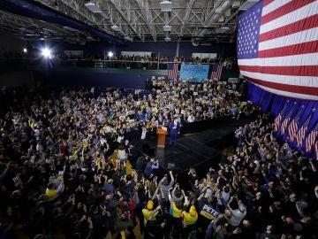 Acto de Bernie Sanders en Nuevo Hampshire