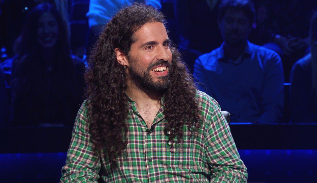 Héctor juega con el cometa Halley por los 100.000 euros de '¿Quién quiere ser millonario?'