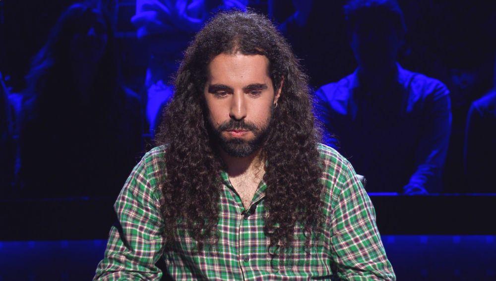 """Héctor, ante el reto de los 50.000 euros en '¿Quién quiere ser millonario?': """"En casa me diría: '¡Juega!'..., pero es que estoy aquí"""""""