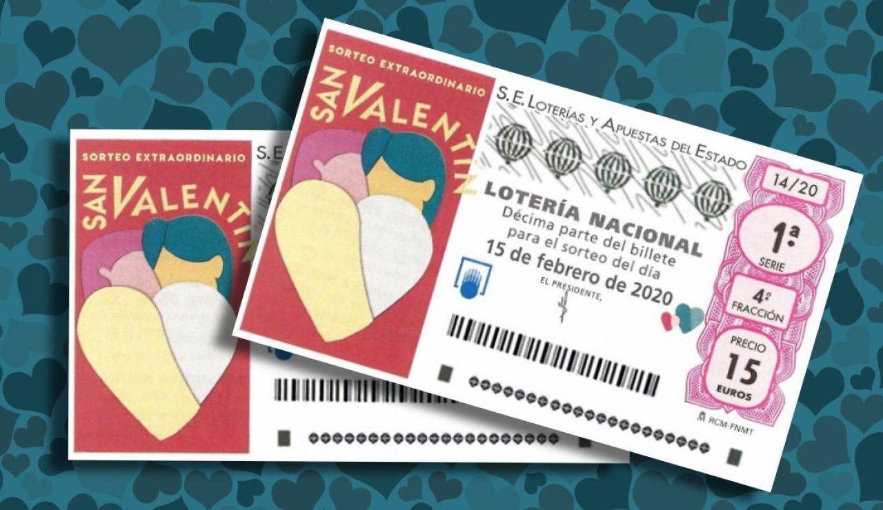 Sorteo Extraordinario de San Valentín 2020: Premios del sorteo de la Lotería Nacional del sábado 15 de febrero