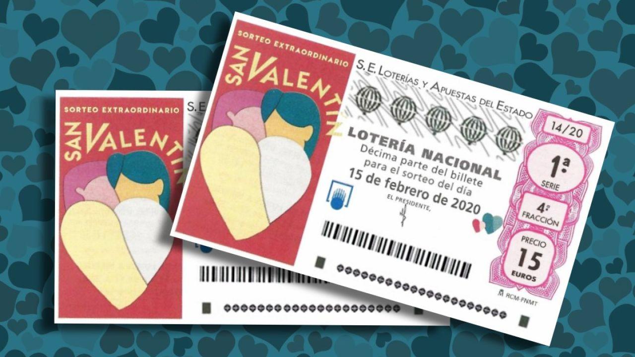 Sorteo Extraordinario De San Valentín 2020 Premios Del Sorteo De La Lotería Nacional Del 15 De Febrero