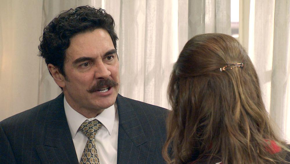 El tremendo enfado entre Irene y Armando que termina desatando la pasión