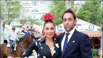Raquel Revuelta junto a su exmarido, Miguel Ánge Jiménezl
