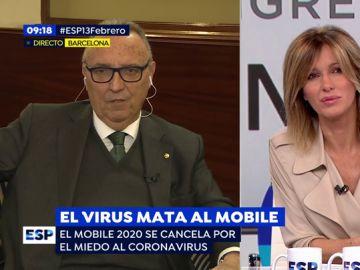 """Joan Gaspart, sobre la cancelación del Mobile: """"Me hubiera preocupado más si se hubiera cancelado por prescripción de la OMS"""""""