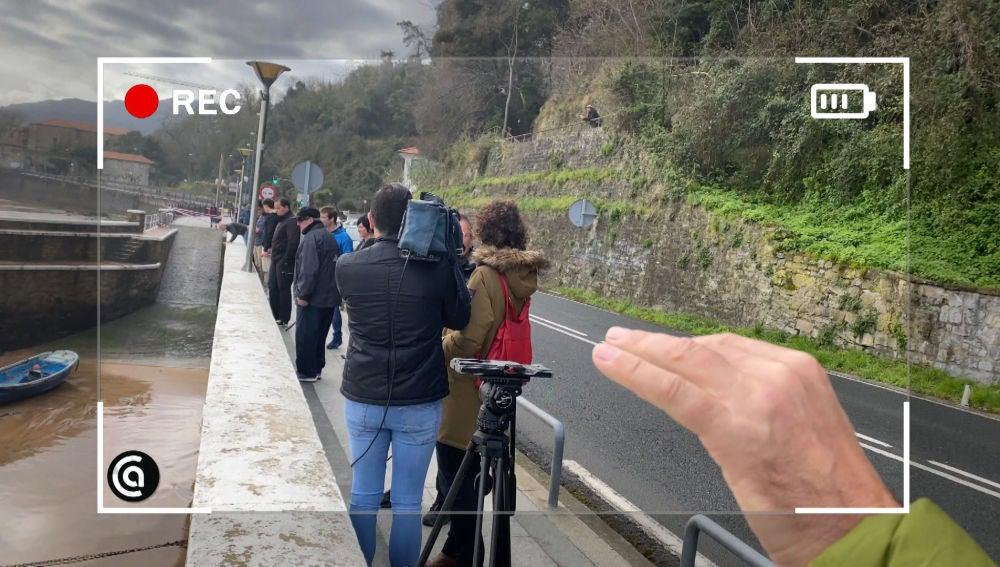 """Las impactantes imágenes de Karlos Arguiñano que """"seguro que salen en los informativos"""""""