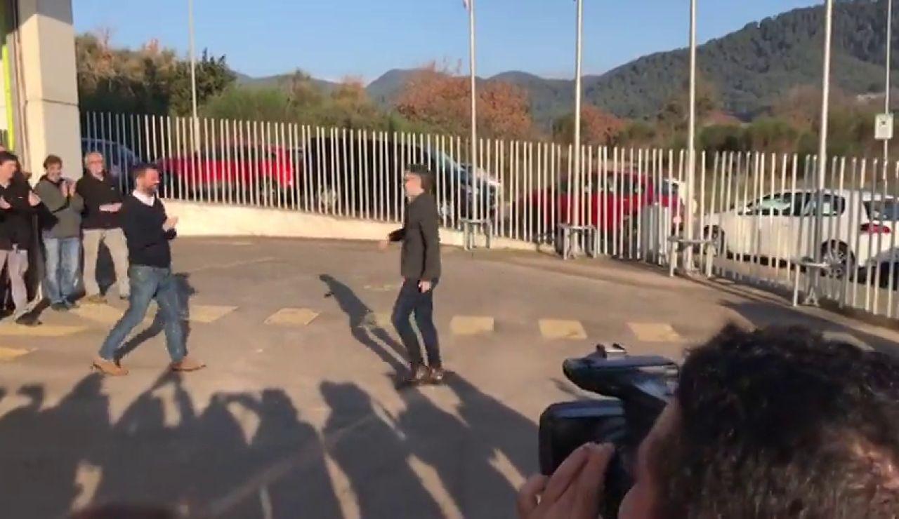 Jordi Cuixart sale de prisión para ir a trabajar y hacer tareas de voluntariado