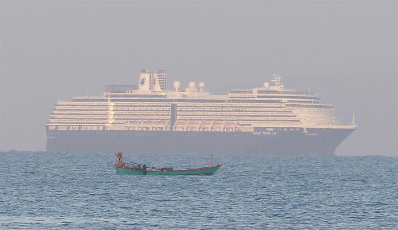 El crucero Westerdam llega a Camboya tras ser rechazado por cinco países