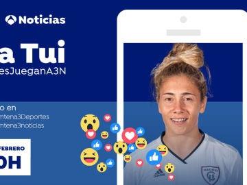 Videoencuentro en Facebook Live con Sara Tui en Antena 3 Noticias