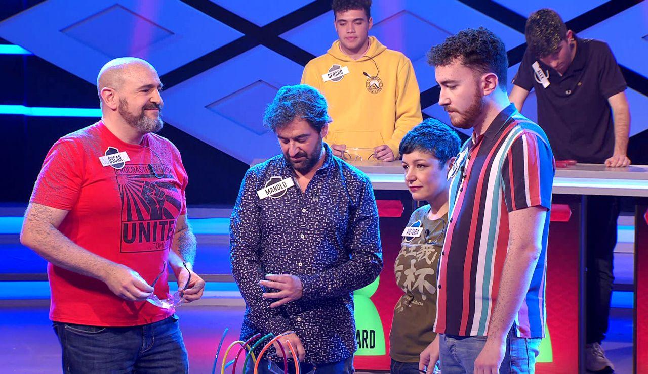 La pregunta sobre Eurovisión que deja '0 points' para 'Los dispersos' en '¡Boom!'