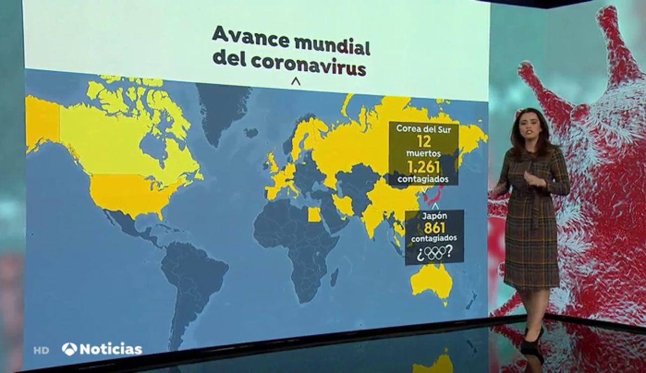 Avance mundial del coronavirus, por Susana Román