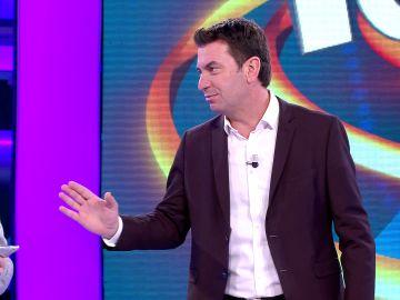 El parecido razonable del día en '¡Ahora caigo!': Arturo Valls da la bienvenida... ¡a Laura Pausini!