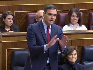 """Casado califica la mesa con Torra de """"despiece de la soberanía nacional"""" y Sánchez le responde que no acepta la diversidad"""