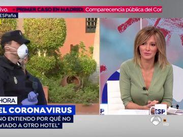 """Un turista alemán del hotel de Tenerife en cuarentena por coronavirus: """"Estamos peor que en la cárcel"""""""