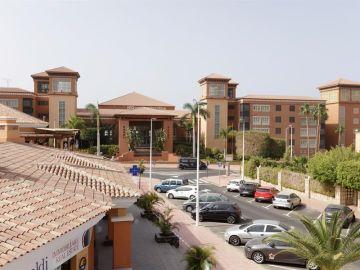 Vista general del hotel situado en Costa Adeje