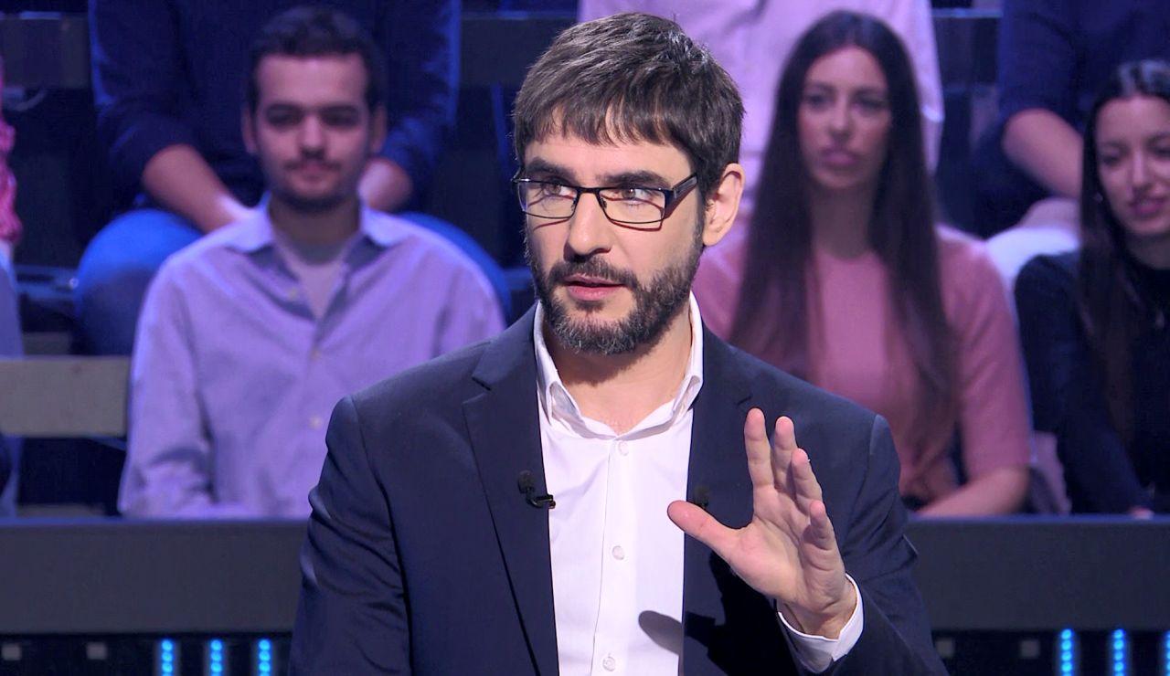 Impactante: Alberto Sanfrutos se salta una norma básica de '¿Quién quiere ser millonario?'