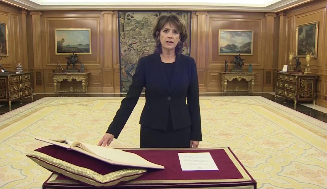 Dolores Delgado toma posesión de la Fiscalía General del Estado