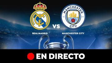 Real Madrid - Manchester City: Partido de hoy, resultado y goles, en directo | Champions League 2020