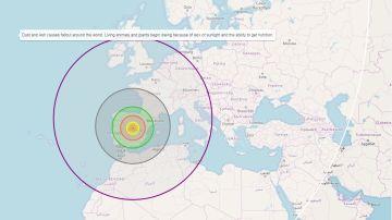 Una web te muestra qué pasaría si un asteroide impactara en tu ciudad