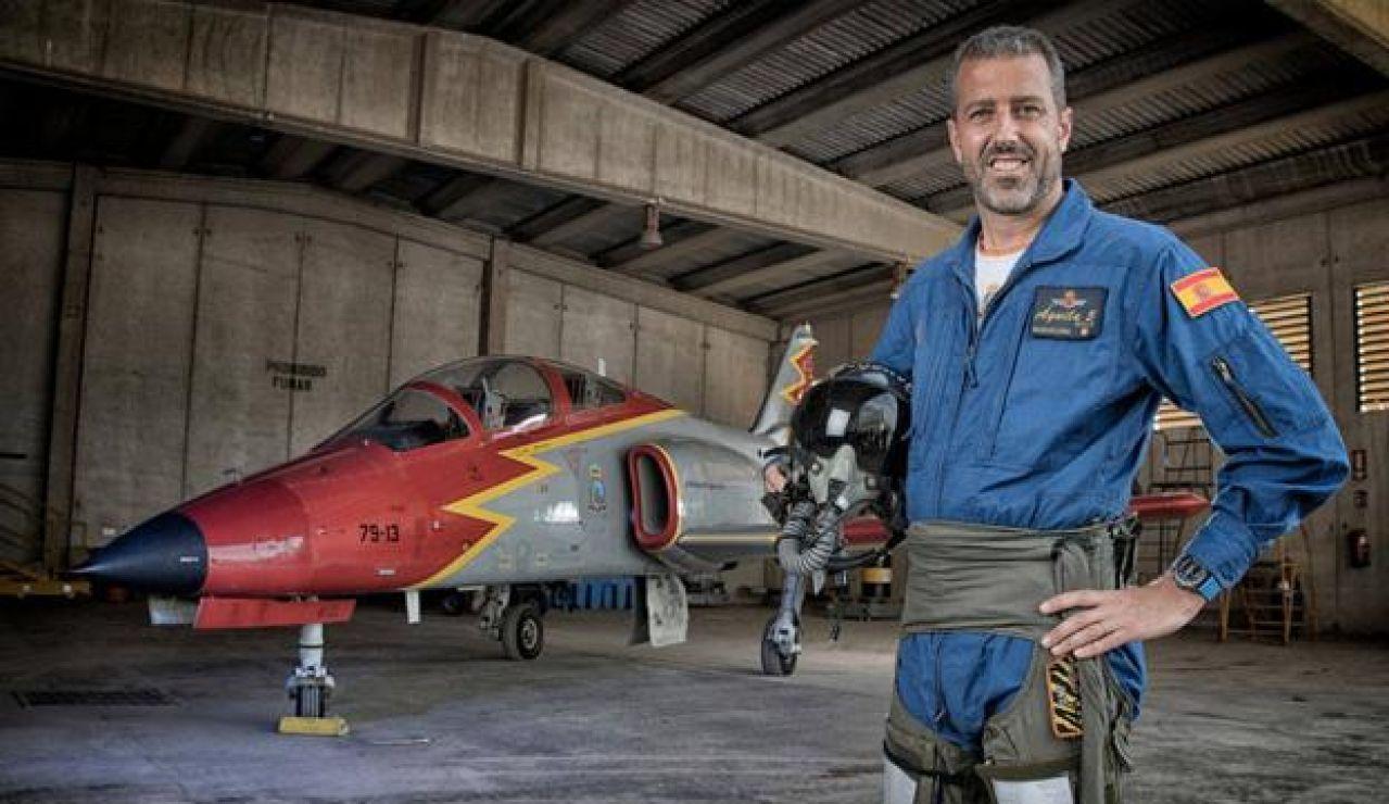 El comandante Eduardo Fermín Garvalena es el piloto del avión siniestrado