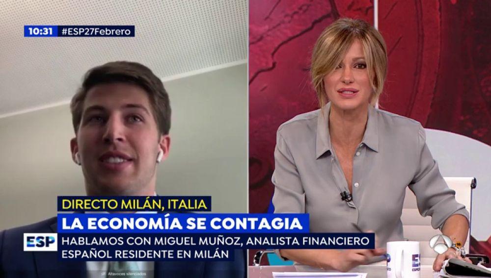 La economía se contagia