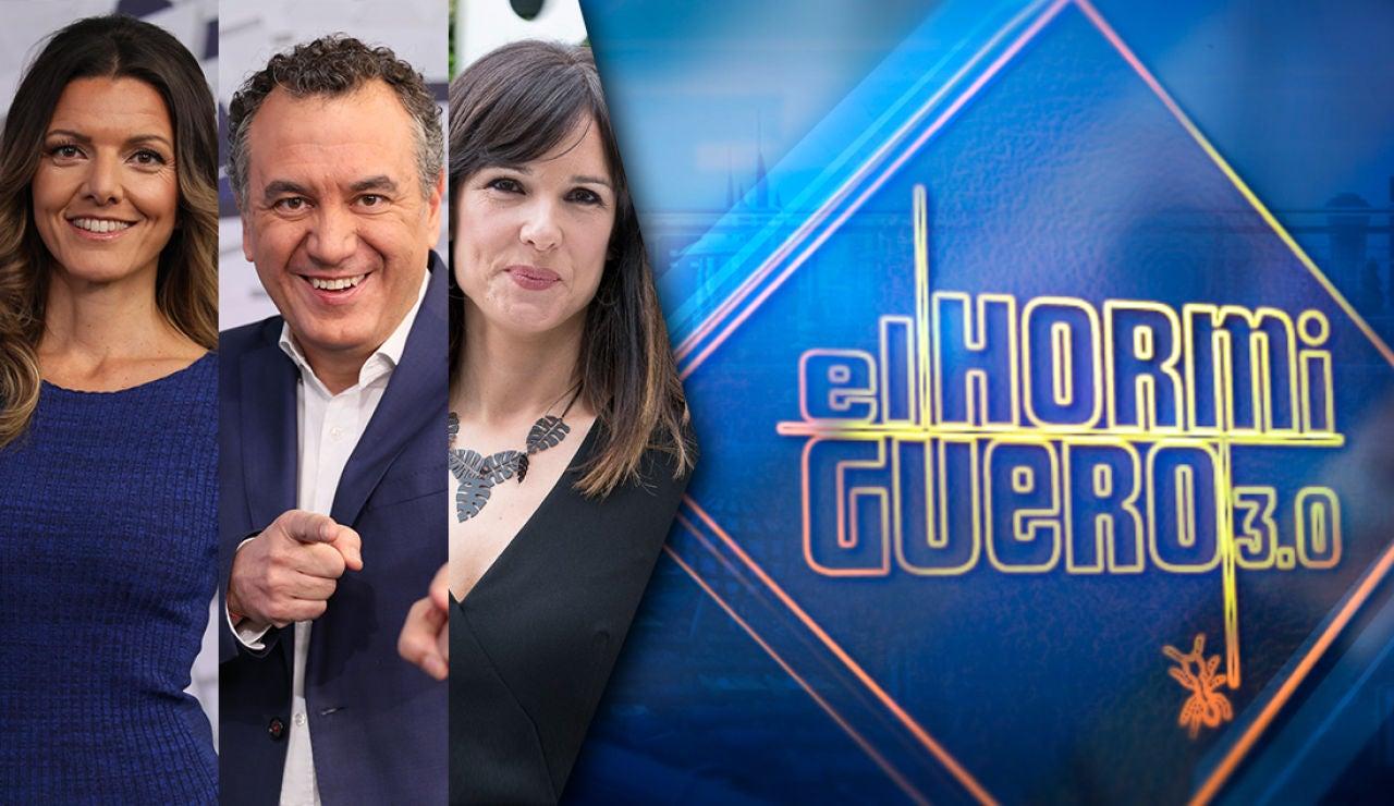 El miércoles visitan en 'El Hormiguero 3.0' Mónica López, Roberto Brasero e Himar González