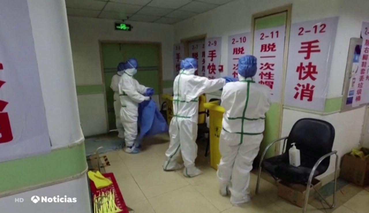 Medidas de prevención en China por el coronavirus