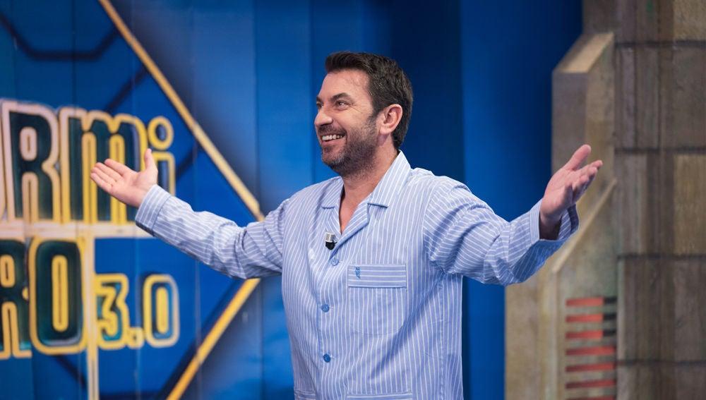Arturo Valls, el primer invitado que acude en pijama a 'El Hormiguero 3.0'